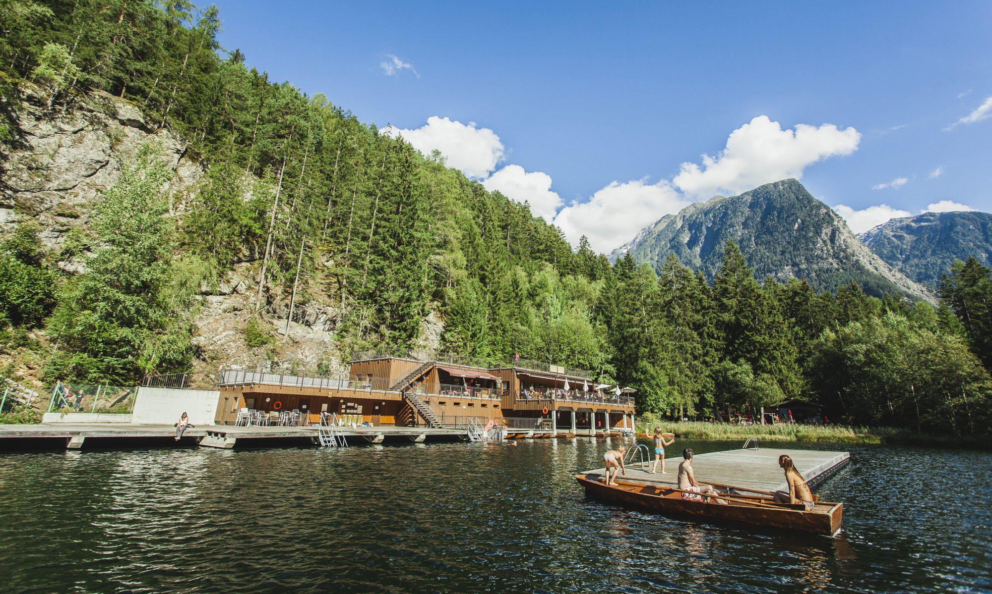 Boots- und Badeanlage Piburgersee